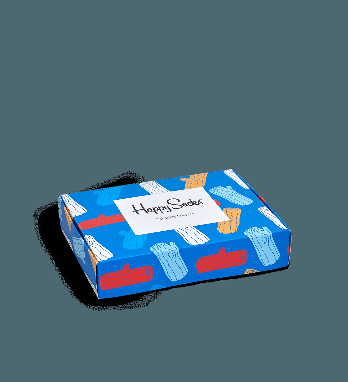 Logs Flat Gift Box