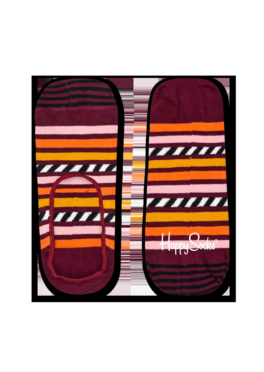 Stripe & Stripe Liner Sock