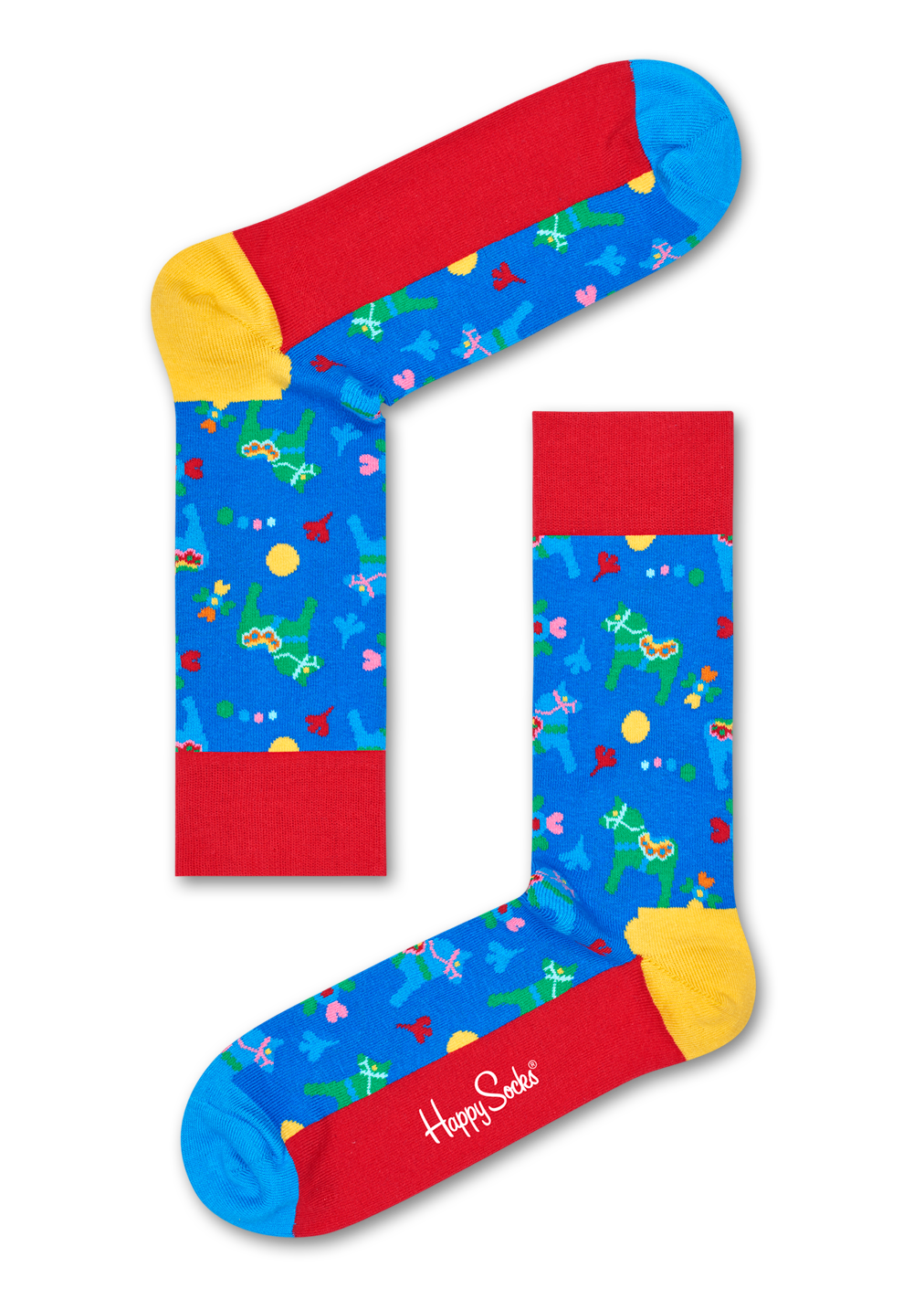 Dala Horse Sock