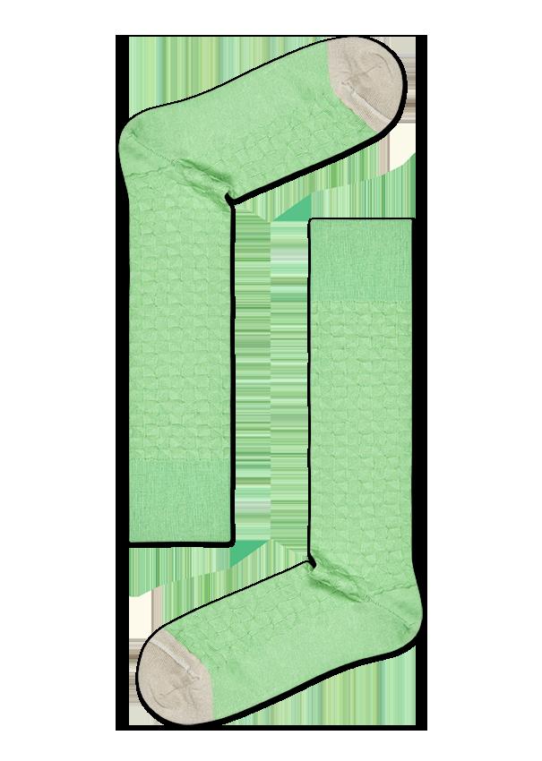Dressed triangle sock