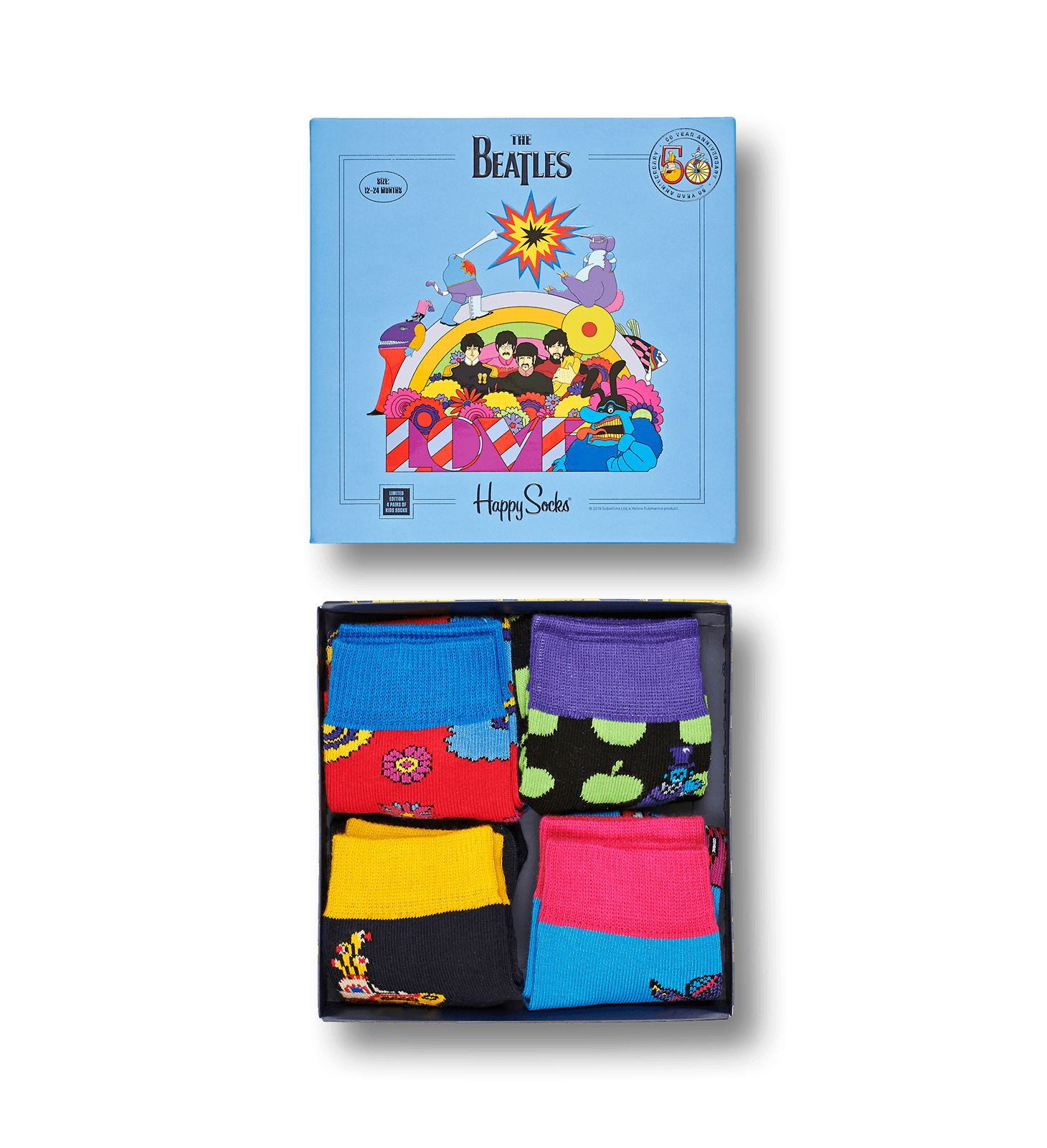 Kids Beatles Sock Box Set