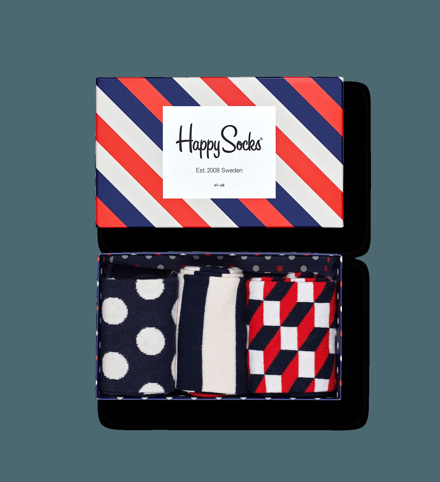 Classic Stripe Gift Box