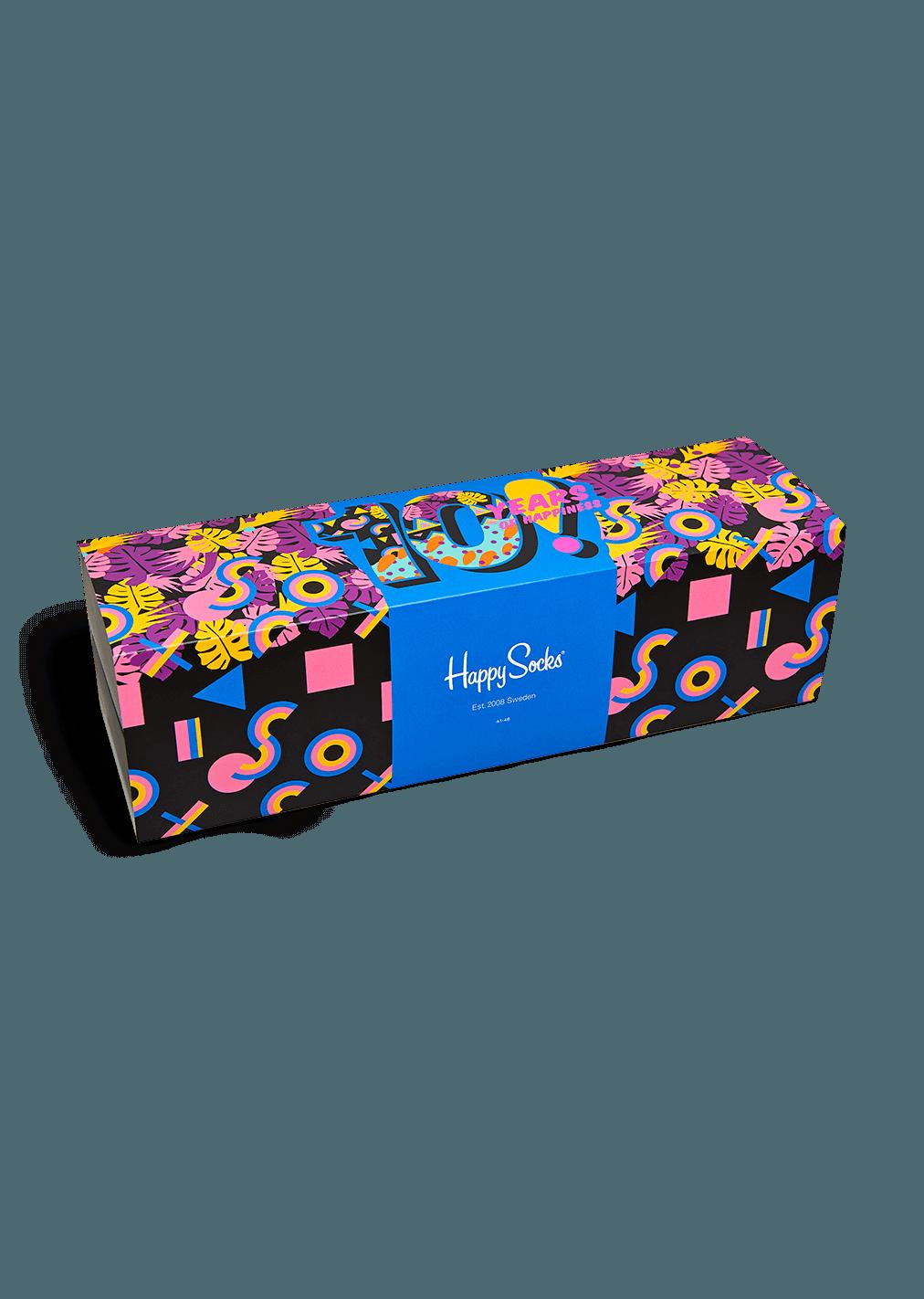 10 Year Anniversary Socks Gift Box
