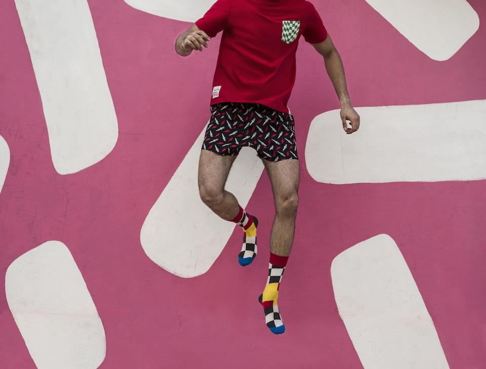 Happy Socks x Royal Enfield